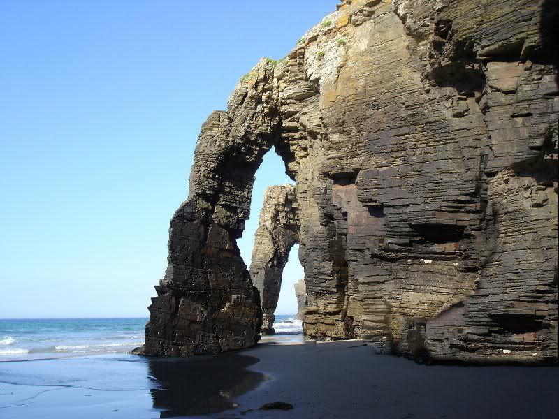playa de las catedrales gps