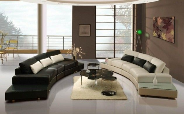 schönes wohnzimmer beiger teppich heller bodenbelag farbkontraste - Teppich Wohnzimmer Braun
