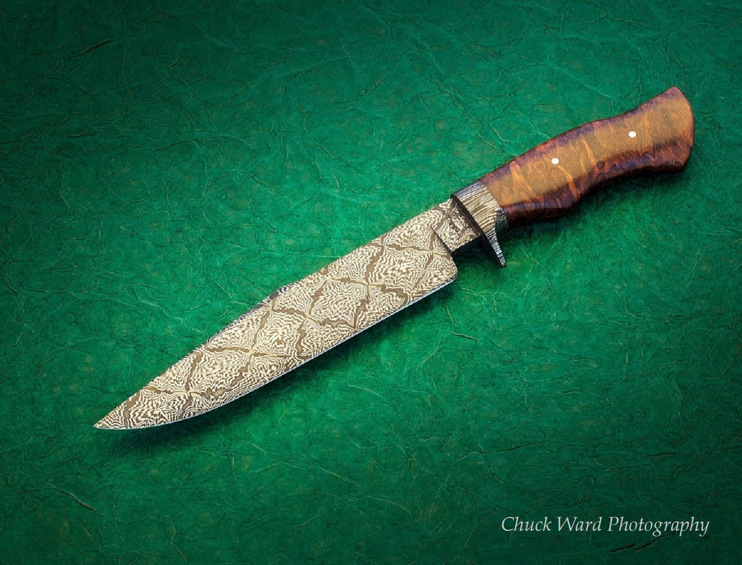 Bowie Knife Custom Knife Handmade Knife 9 Quot Explosion