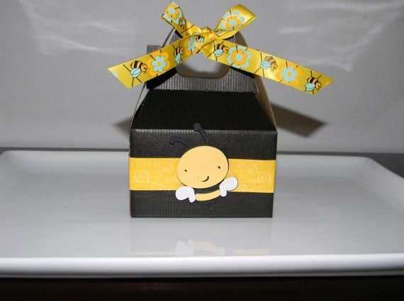 Bumble Bee Favor Boxes By YourPartyShoppe On Etsy 1700