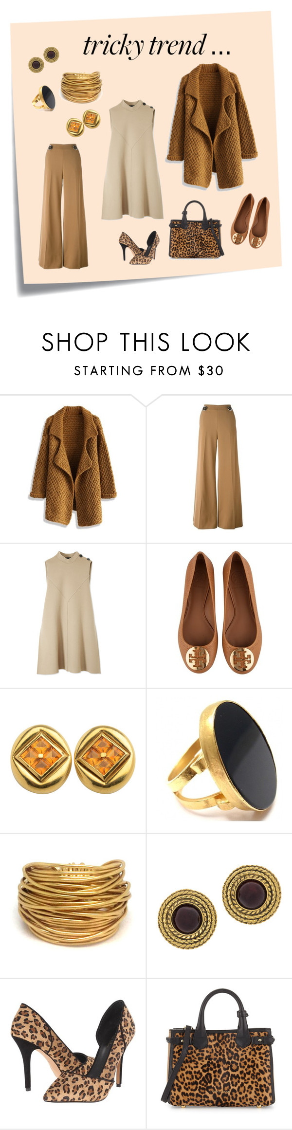 """""""DRESS AND PANTS"""" by mountainalive on Polyvore featuring Post-It, Chicwish, STELLA McCARTNEY, Derek Lam, Tory Burch, Yossi Harari, Black & Sigi, Chanel, Artelier by Nicole Miller and Burberry"""