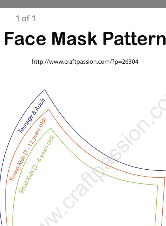 Pin On Pattern Mask
