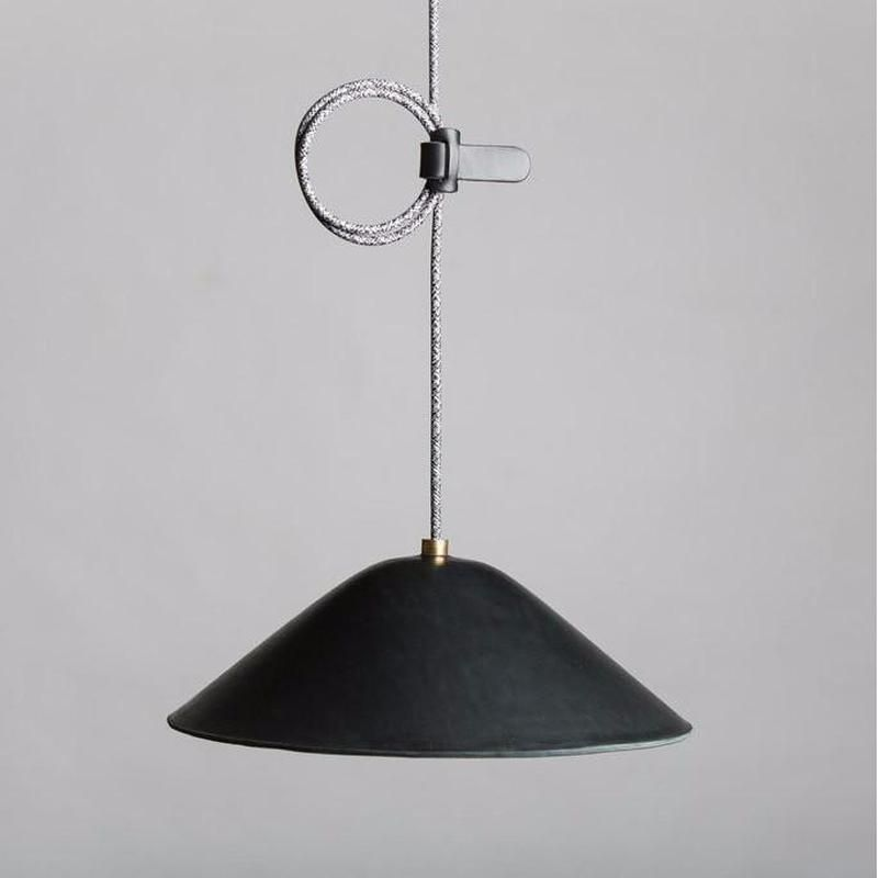 Handmade Black Leather Pendant Light Designer Lighting Lighting Collective Pendant Light Interior Pendant Lighting Modern Style Lights