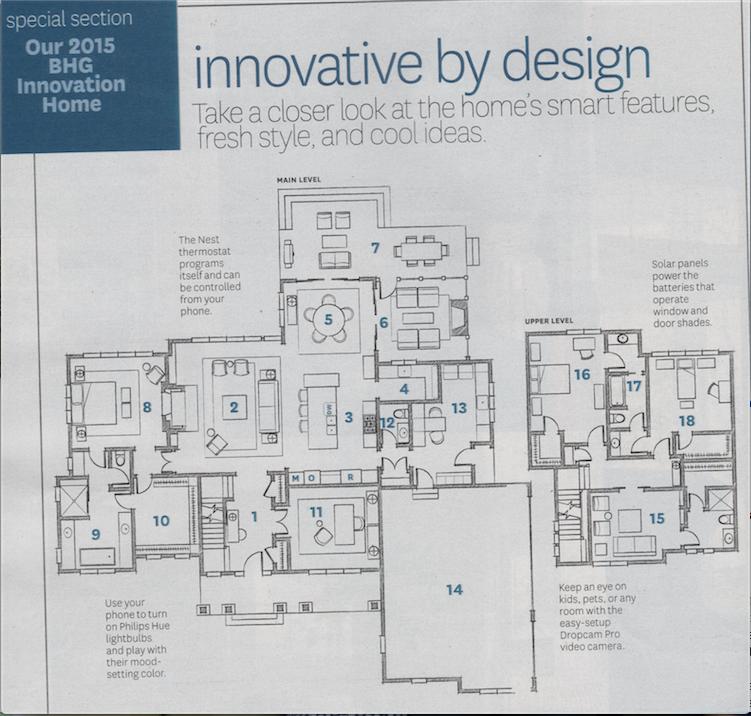 2015 Bhg Innovation Home Floor Plans House Floor Plans Floor Plans Floor Plan Design
