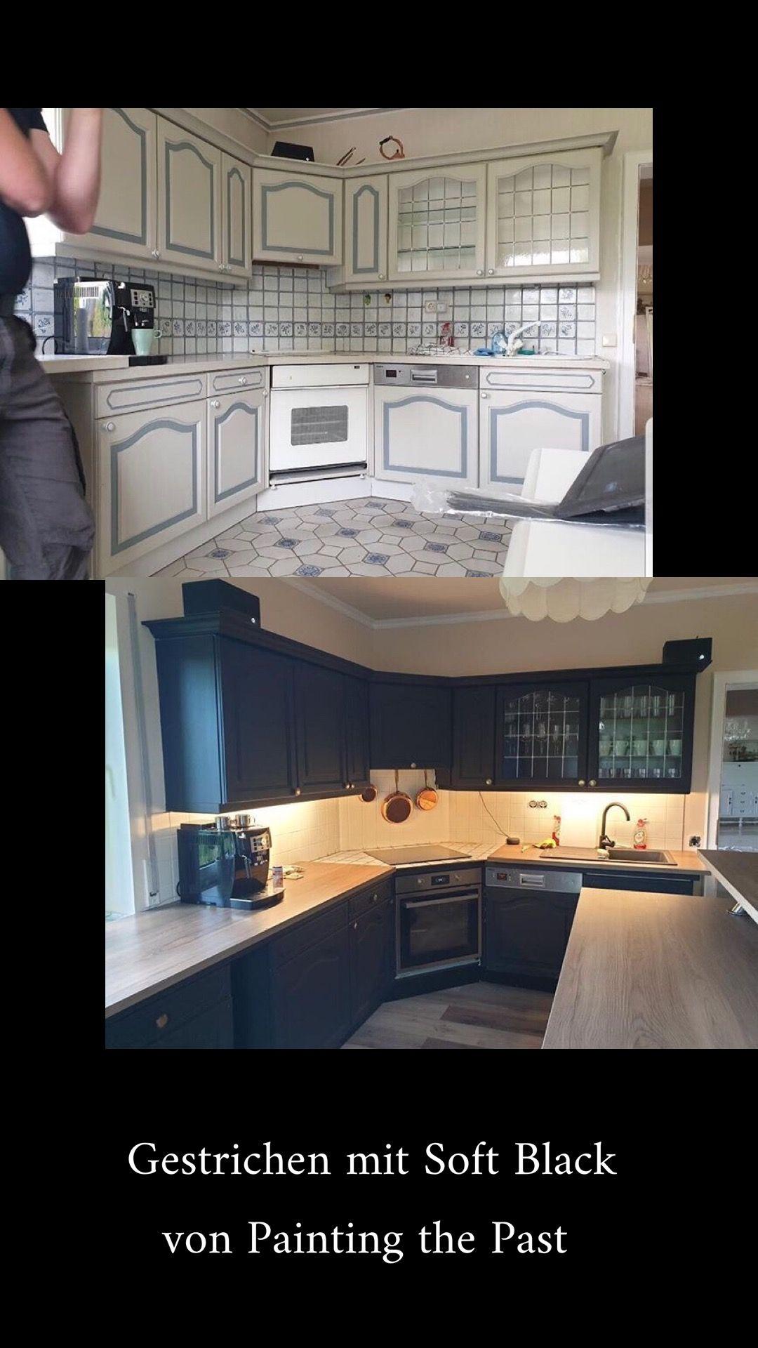 Küche streichen mit Kreidefarbe und Kreidelacken in 2020
