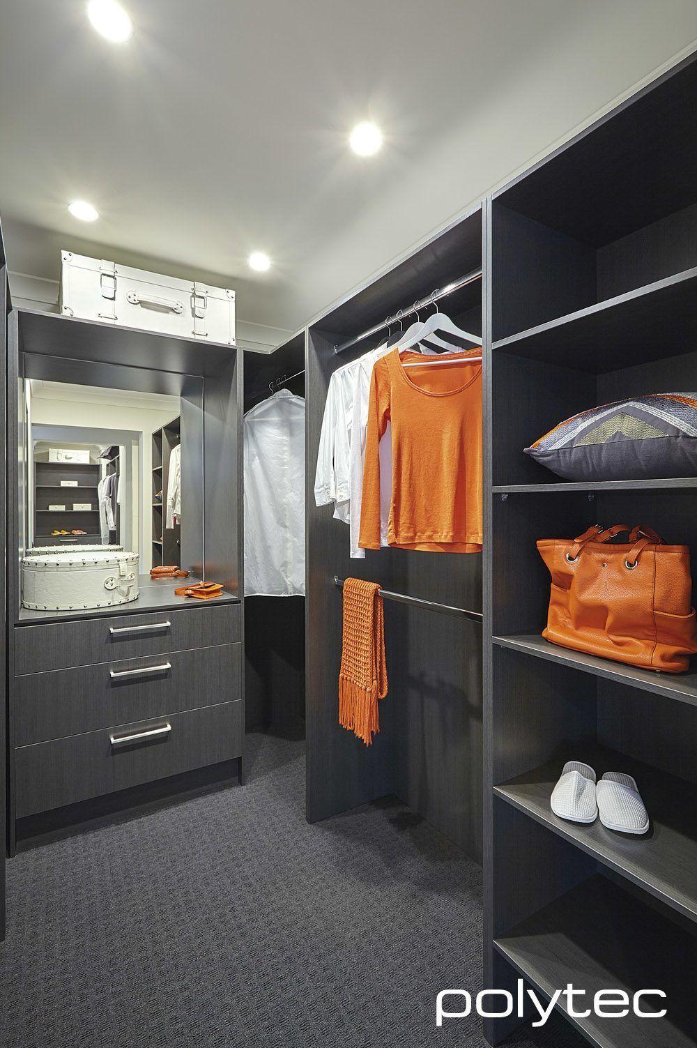 Wardrobe in MELAMINE Cavia Lini Matt  | Walk-in closet | Walk in