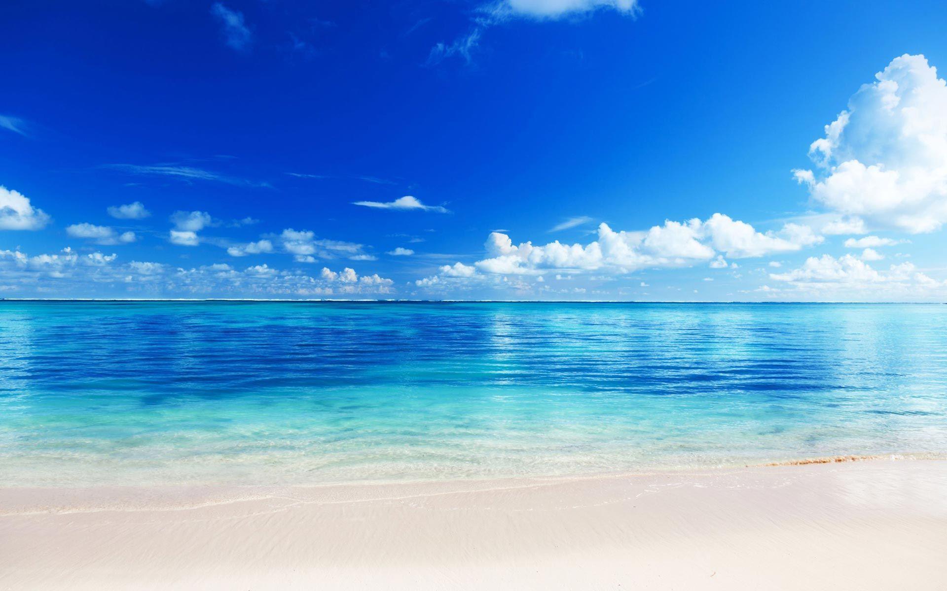 Clear Water 4 Hd Wallpaper Wallpaper Place Beach Background Beach Landscape Ocean Landscape