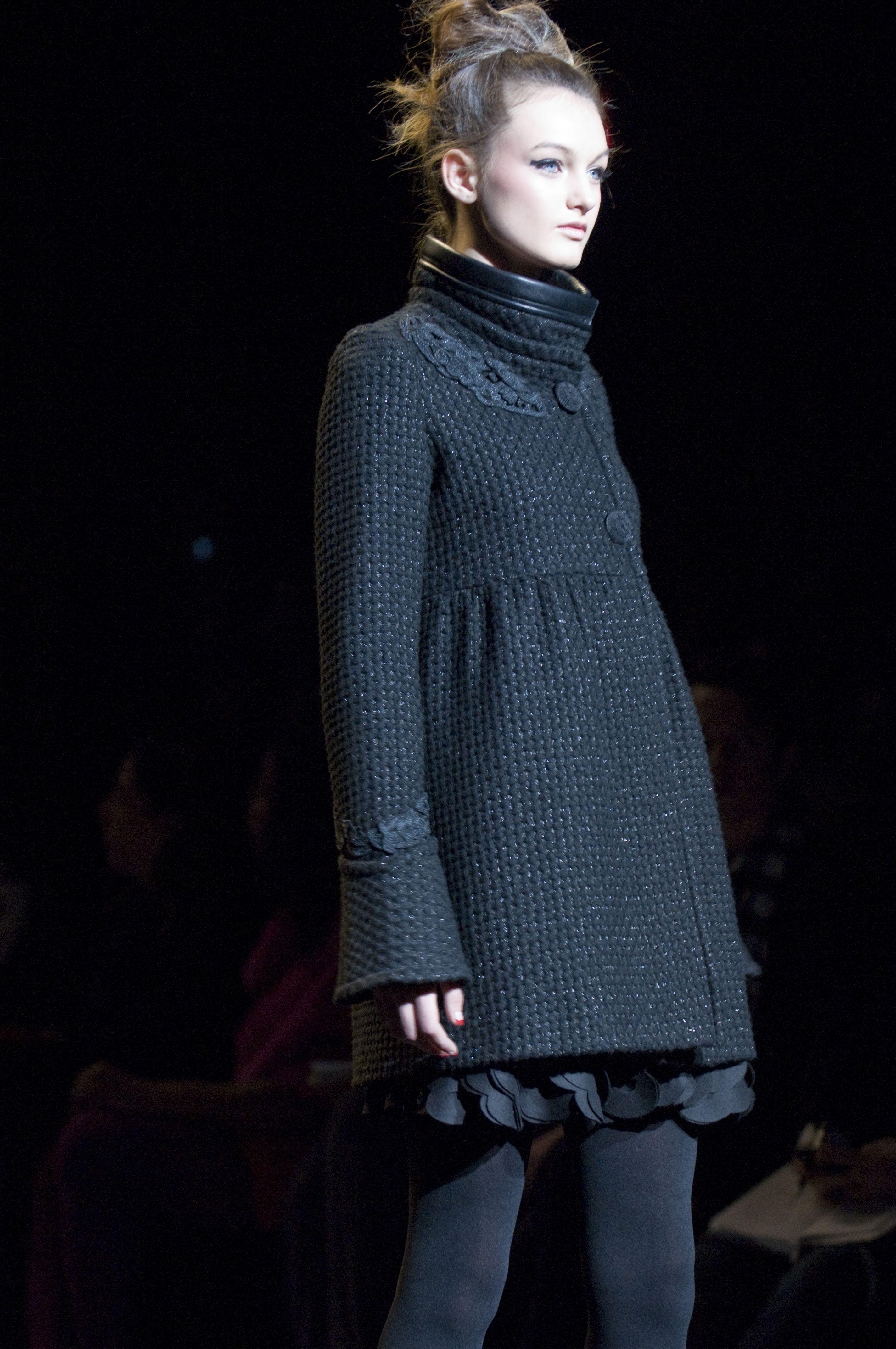 #Black Coat #2dayslook #emma875 #blackjacket   http://pinterest.com/emma875