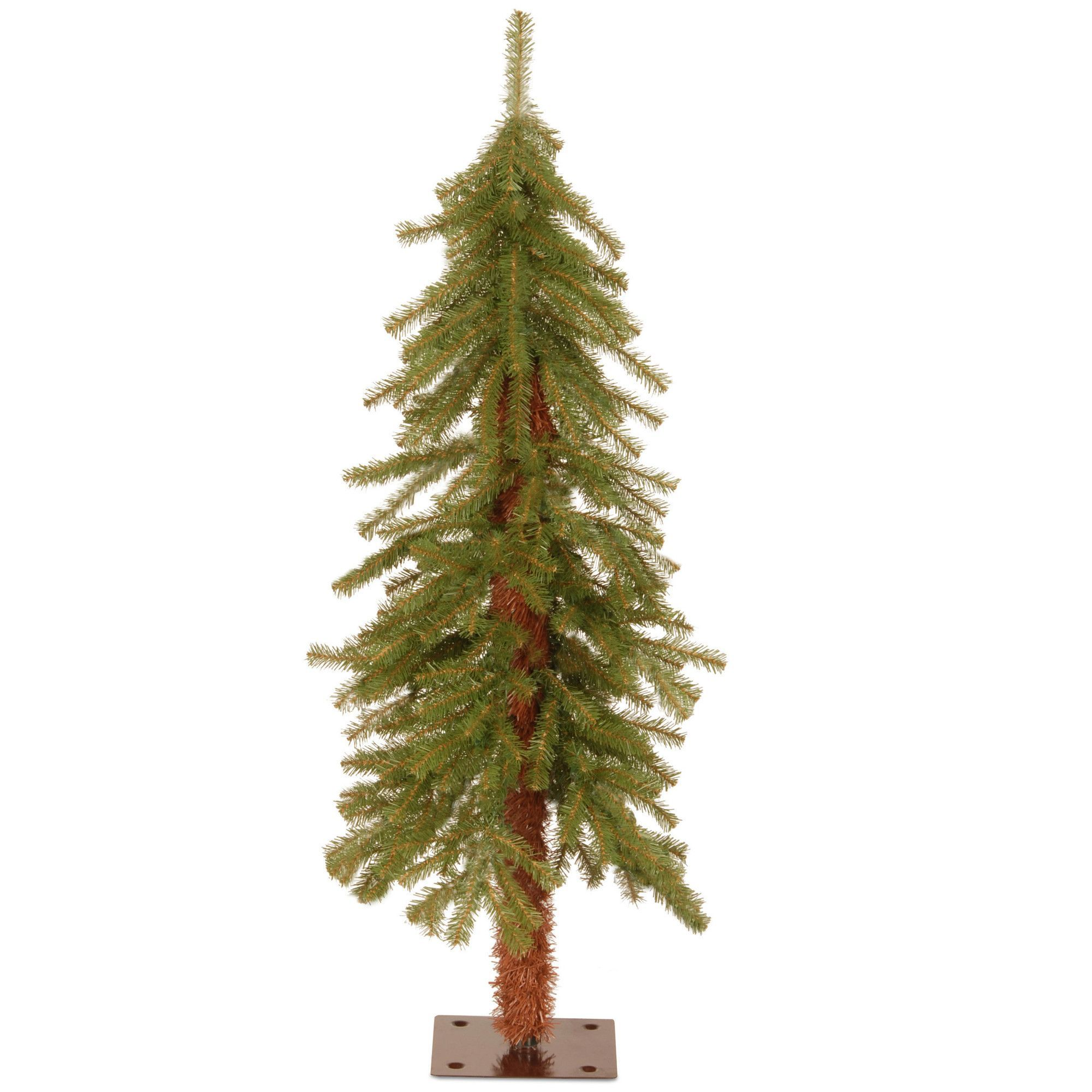 Hickory Cedar 3 Green Artificial Christmas Tree With Unlit