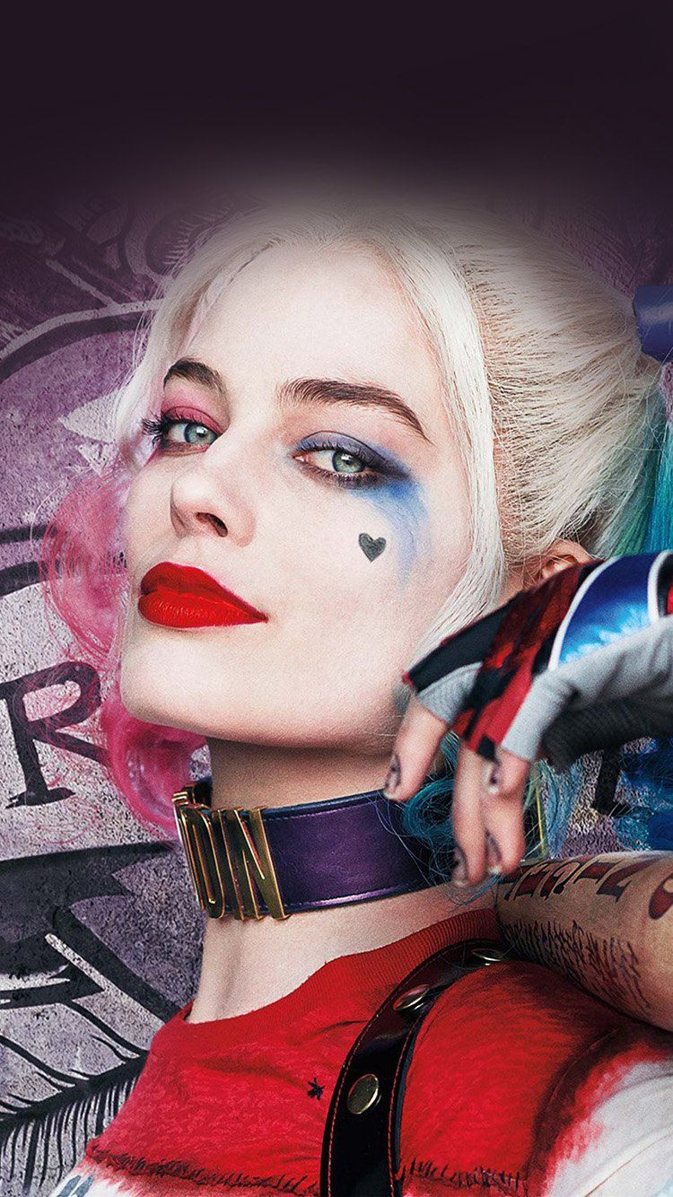 harley quinn hero girl joker suicide squad wallpaper hd iphone | hi