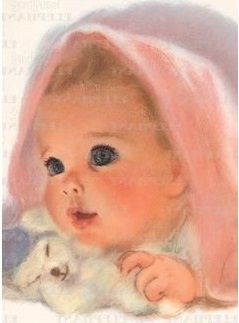 public domain vintage images baby | tags vintage babies babies did you know a baby is