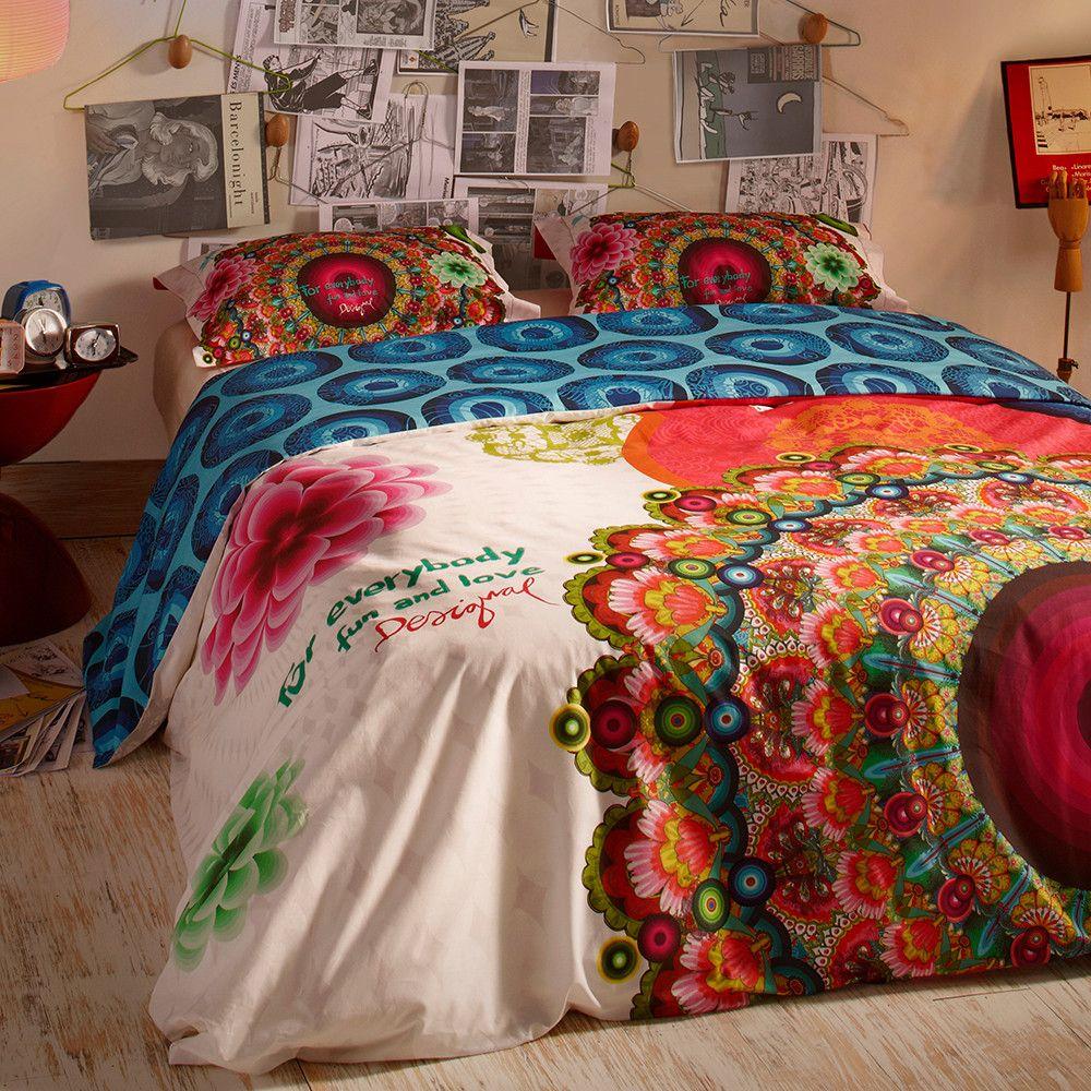 Galactic Fair Duvet Set King From Desigual Duvet Sets Bedroom
