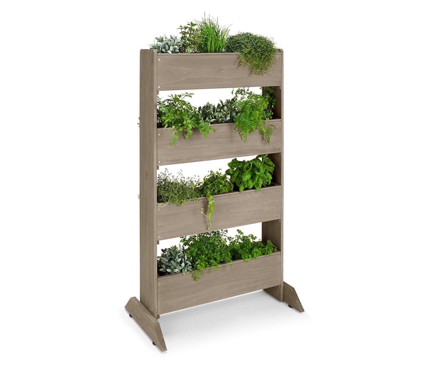 129 00 platzsparendes beet f r balkon terrasse und garten pflanzenvielfalt auf kleinstem raum. Black Bedroom Furniture Sets. Home Design Ideas