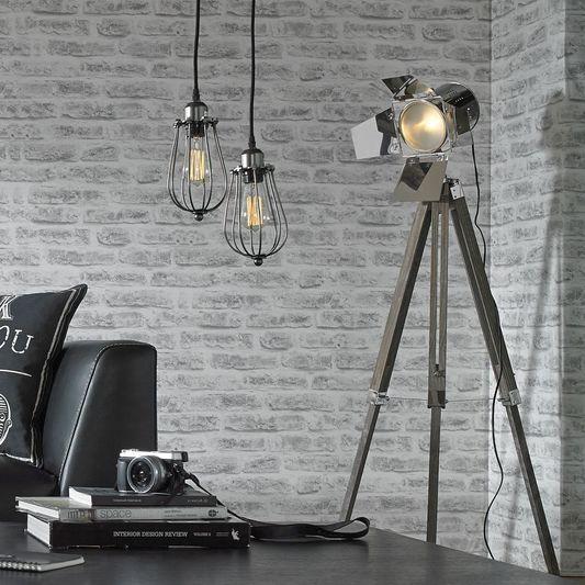 Spotlight tripod floor lamp large