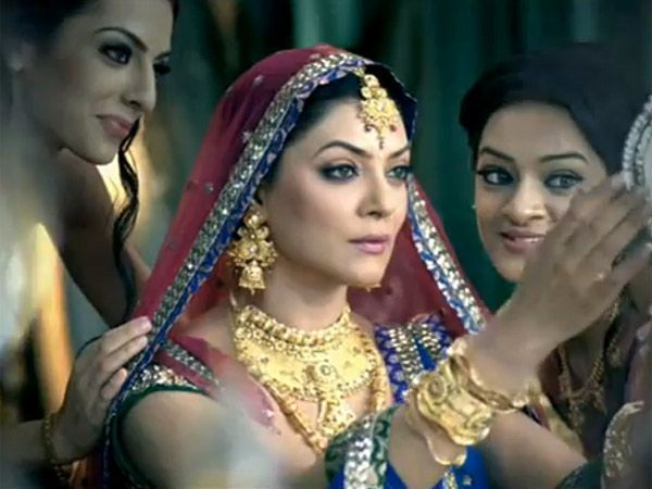 Image result for sushmita sen bridal look