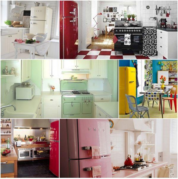 Cozinhas Decoradas - Como decorar uma Cozinha Vintage