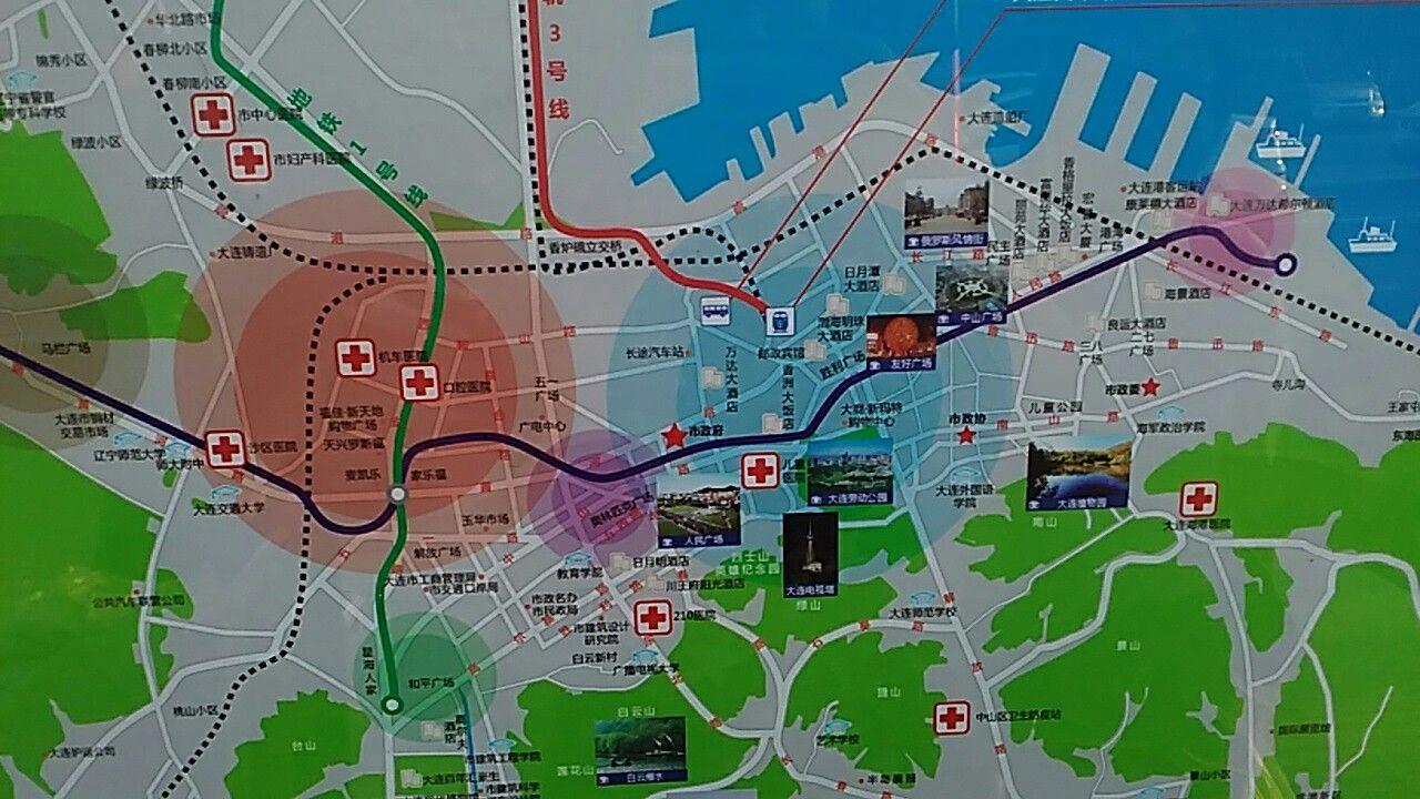 Dalian map Dalian Pinterest