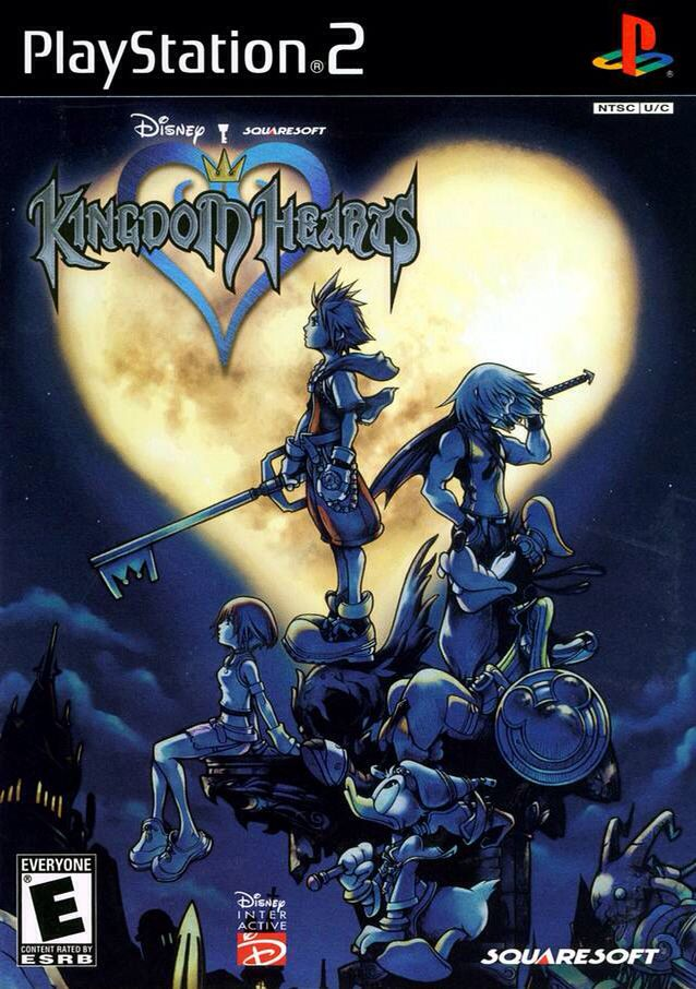Kingdom Hearts Playstation 2 Game Covers Pinterest