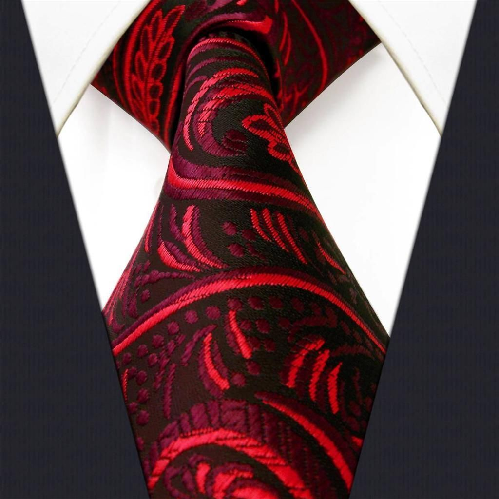 Red Paisley - Neckties Only Collection