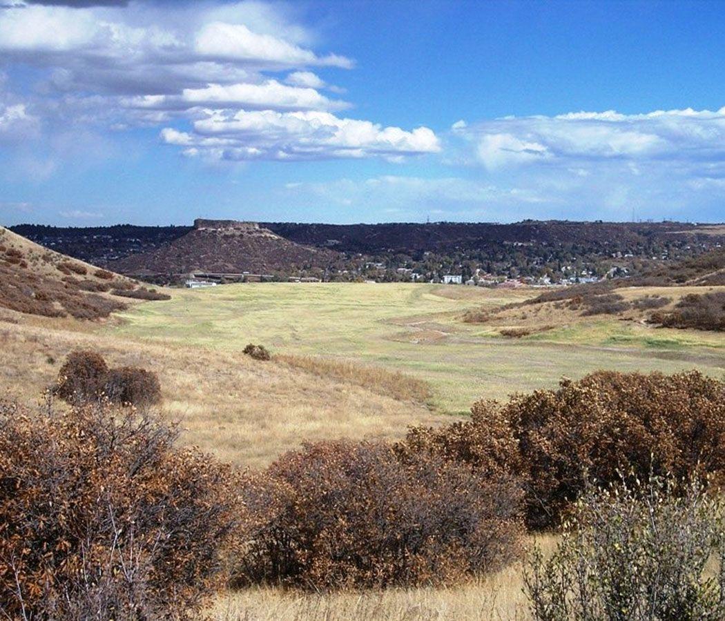 View From Philip S Miller Park Castle Rock Co Castle Rock Park