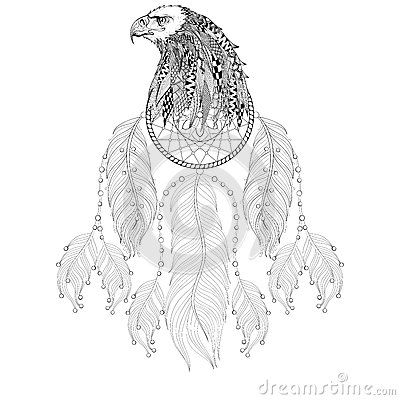 Image Result For Eagle Mandala Coloring Pages Svg Ideas Eagle