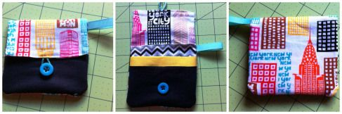 """NYC DIY Gift Card Wallet- how to """"wrap"""" a gift card at bexbeltran.com"""