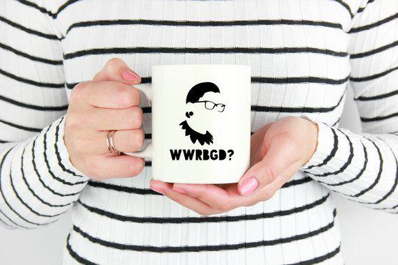 839c048aedbb WWRBGD Ruth Bader Ginsburg Mug, Feminist Gift, Lawyer Mug | Products ...