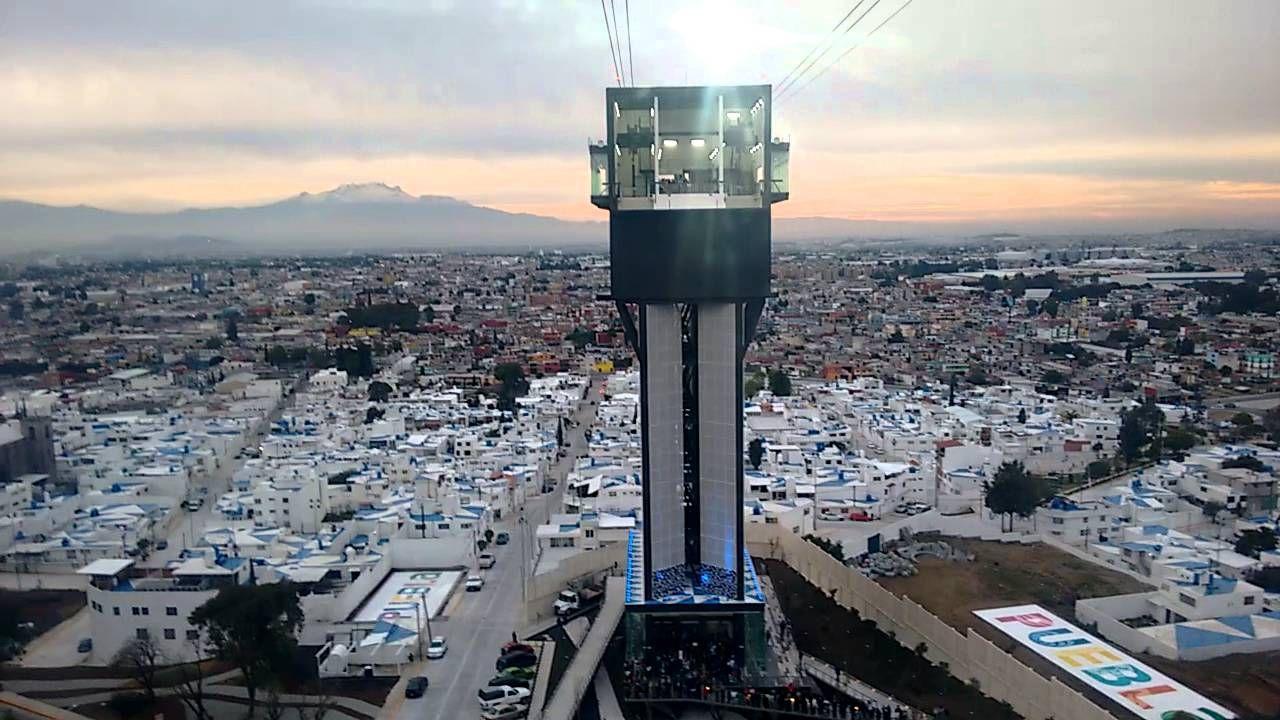 Puebla vista desde el Teleférico