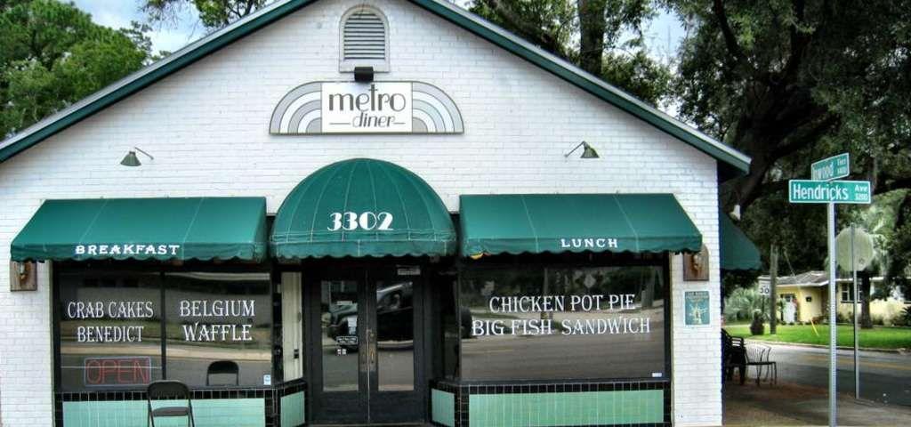 Best Restaurants On I 95 Metro Diner Diner Savannah Georgia Travel