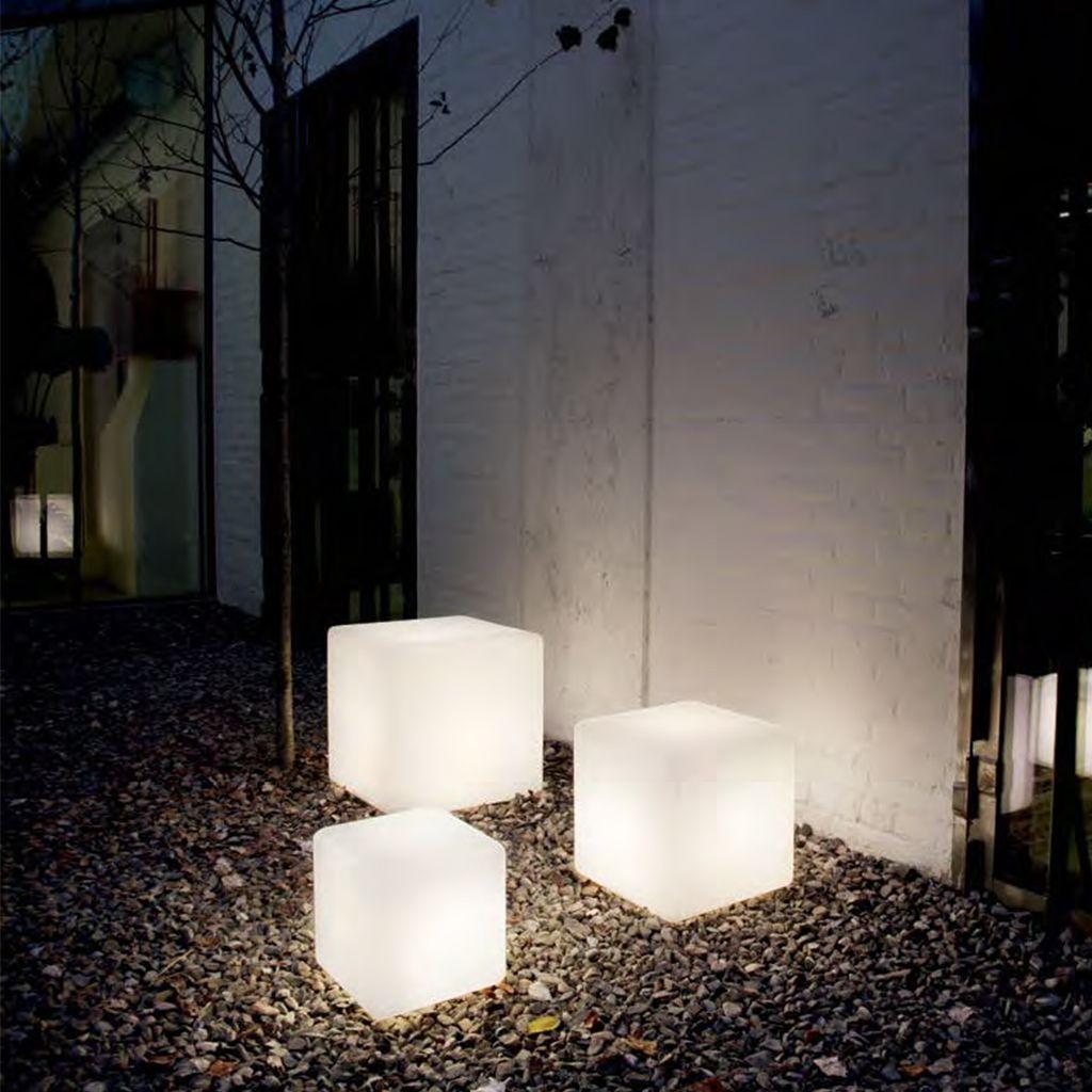 terrassen stehleuchten - leuchtwürfel luna | deliver-light.de