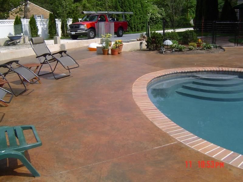Terra Cotta Patios Pool Artistic Concrete Featured