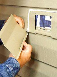 Apply Caulk Vinyl Siding Repair Vinyl Siding Siding Repair
