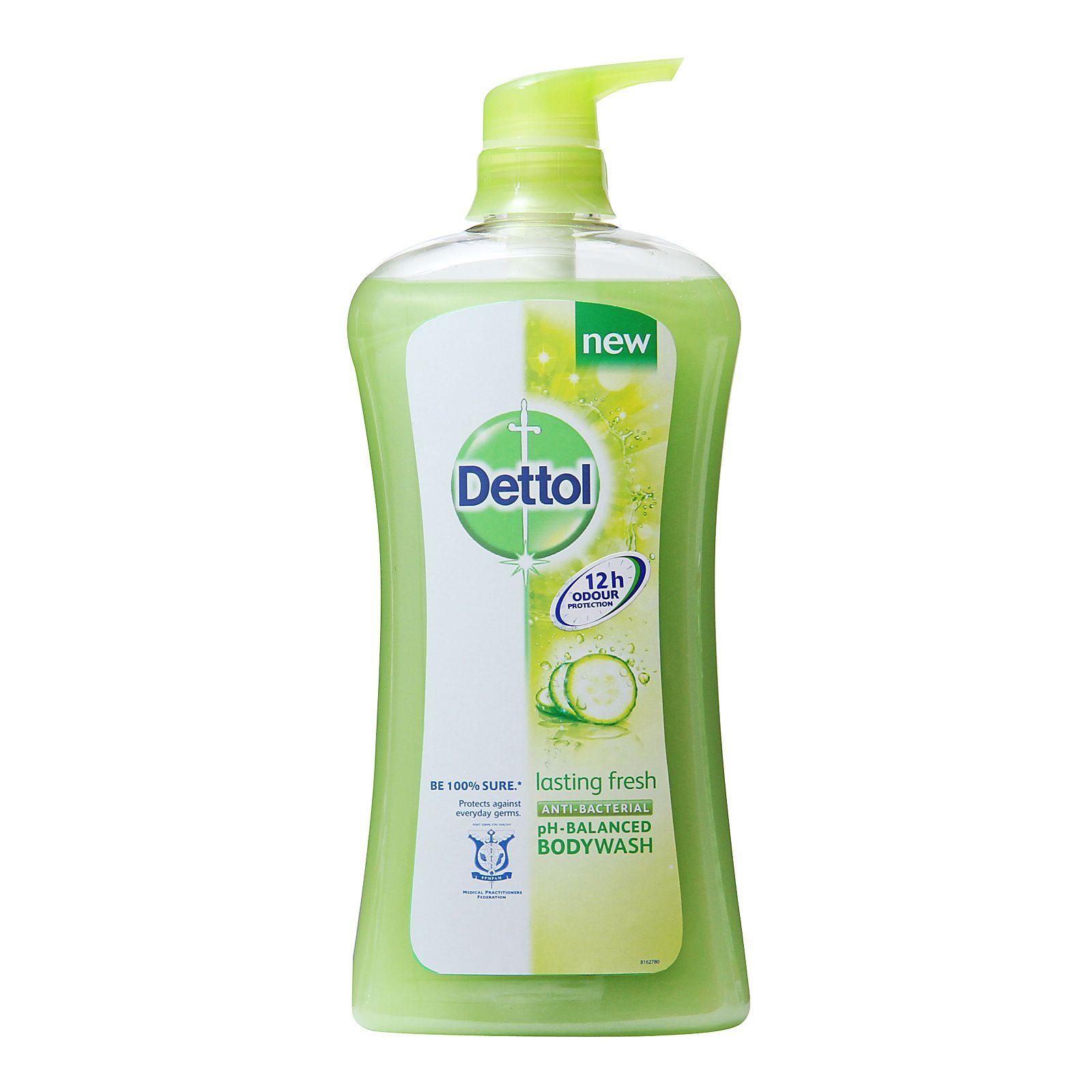 Dettol Anti Bacterial Shower Gel Lasting Fresh Redmart Delight Detol Bodywash Body Wash