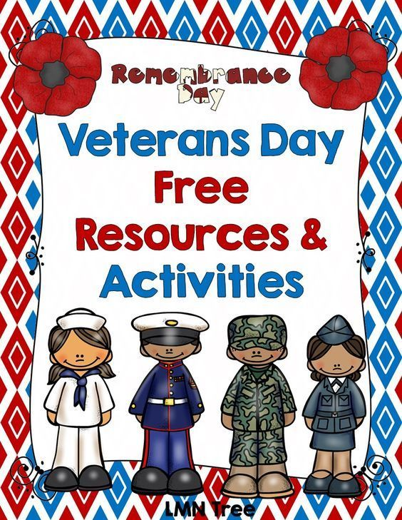 LMN Tree: Veterans Day Free Resources and Activities. Lots of great crafts and activities fro primary grades. #veteransdaycrafts