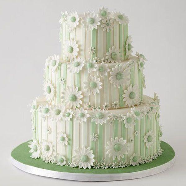 Wedding Cake 101 An Introduction To Wedding Cakes: Daisy Cakes, Fondant Wedding