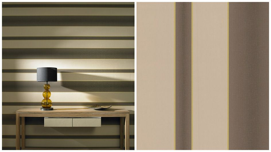 How To Hang Horizontal Striped Wallpaper Plum Line Wallpaper Striped Wallpaper Stripe Wallpaper Bedroom Lines Wallpaper