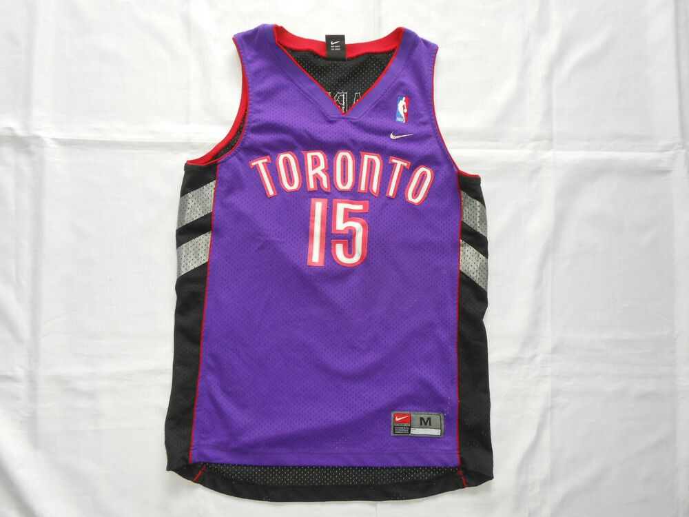 sports shoes 49bd9 14f14 Advertisement(eBay) Toronto Raptors Carter 15 Nike jersey ...