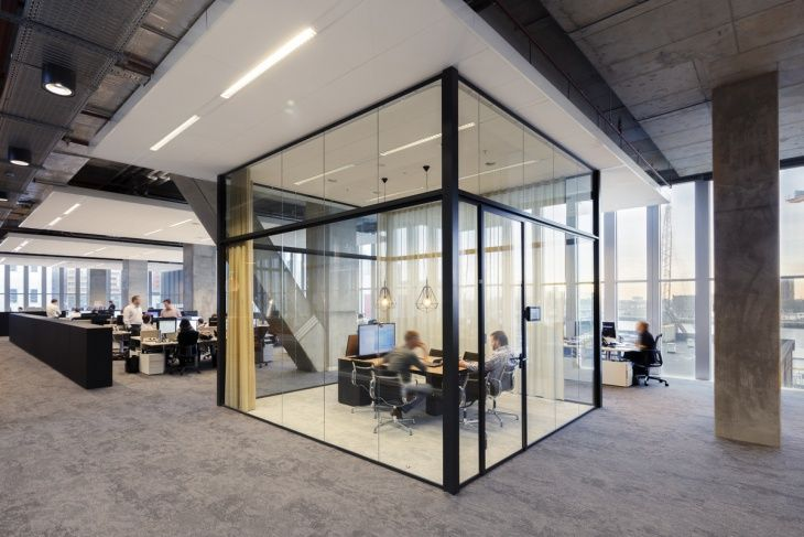 Image result for glass wall post production suite design | Hart ...