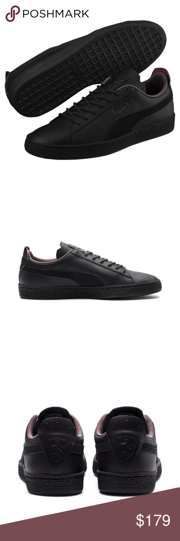 PUMA Scuderia Ferrari Basket Sneakers Men Shoes PUMA
