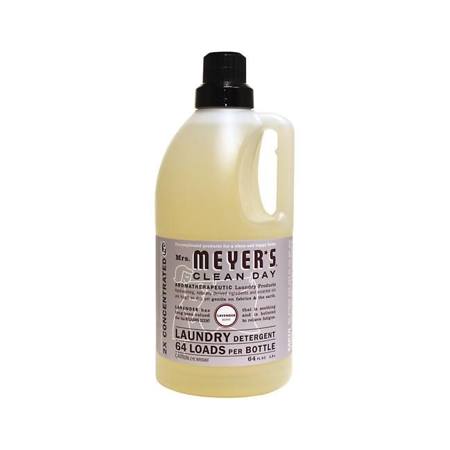 Mrs Meyer S Clean Day Laundry Detergent Lavender 64 Fl Oz