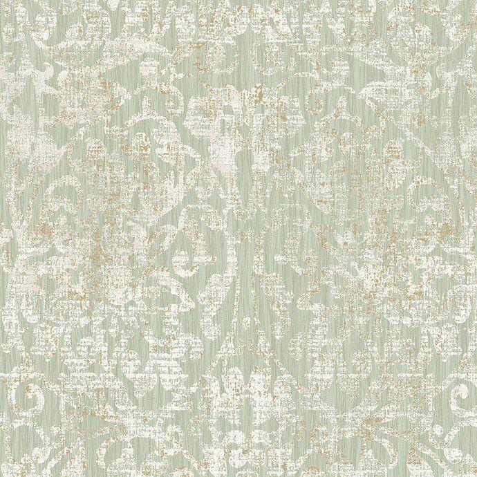 Hurst damask - sage green (With images) | Sage green ...