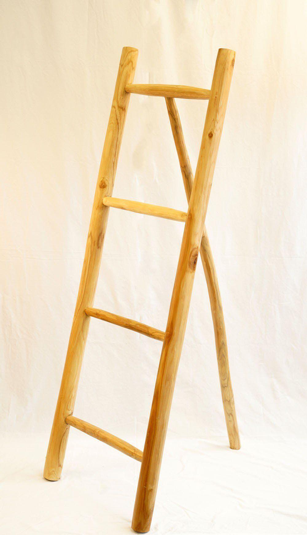 Decoratieve Ladder Sanur In 2021 Houten Ladder Decoratieve Ladders Ladder