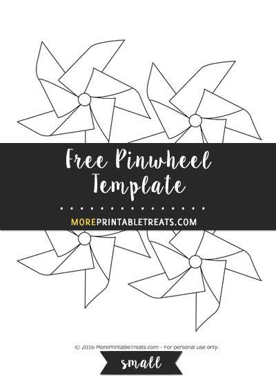 Free Pinwheel Template
