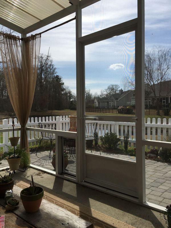 Outdoor Curtain Rods For Aluminum Screen Room Pinterest Aluminum