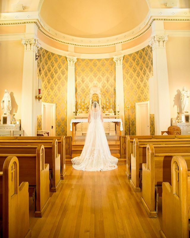 My favorite Catholic Church for weddings! Holy Names Academy has this beautiful sanctuary on their second floor. They celebrated at aboard the MV Skansonia! @hna.baddies @mv_skansonia #evedeso #eventdesignsource - posted by SEATTLE WEDDING PHOTOGRAPHER https://www.instagram.com/mariahgentryphotography. See more Wedding Designs at http://Evedeso.com