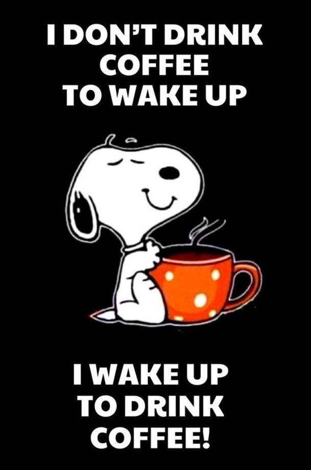 10 Coffee Quotes Featuring Snoopy To Start Your Morning