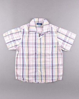 Camisa cuadros manga corta (talla 6 años) 4,50€ http://www.quiquilo.es/nino/938-camisa-cuadros-manga-corta.html