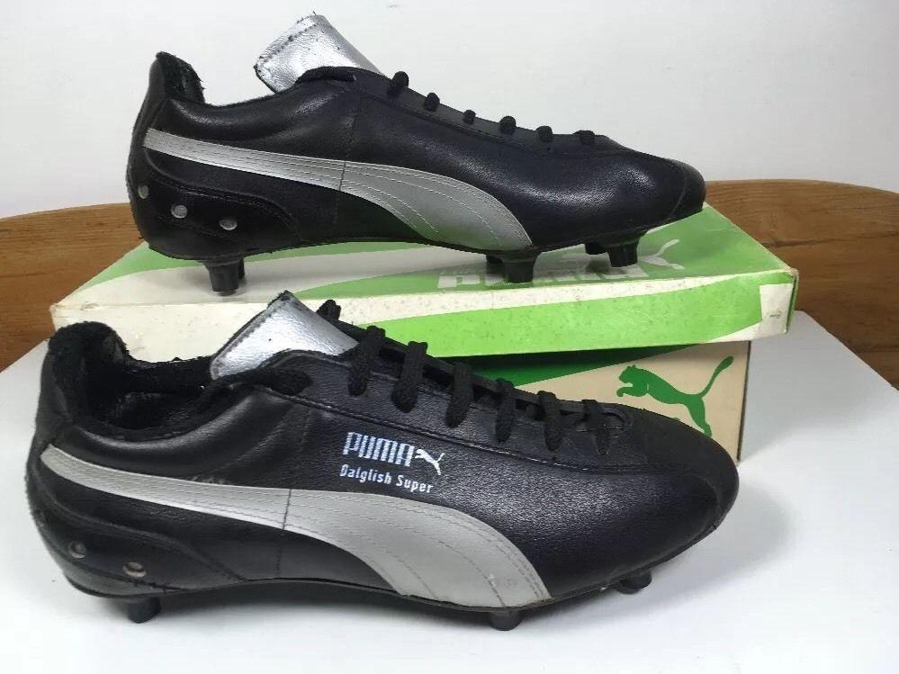 Vintage 1980s Puma Daglish Super football Boots Uk 7 US 8 Ultra Rare OG King   eBay