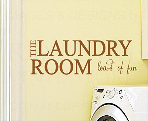 Bling2Bling DIY【THE LAUNDRY ROOM loads of fun】Quote Wall ...