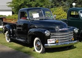 1950 Chevy Black Chevrolet Pick Up Truck With White Wall Tires Classic Chevy Trucks Chevy Trucks Classic Cars Trucks